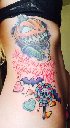 Halloween IS a lifestyle tattoo!