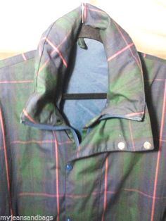 Plaid Proquip Gore-Tex Sports Jacket-Large-Waterproof-Made In England