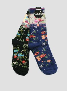 Ozone Mona Lisa Sock // The Sock Hop