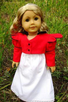 Regency sewing pattern set for American Girl dolls by jenwrenne, $15.99