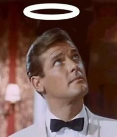 The Saint aka Roger Moore as Simon Templer. THOUGHT I WAS IN LOVE WITH HIM WHEN I WAS NINE...........