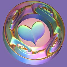Fractal - Love in rainbow colors by CanDuCreations