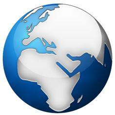 Globe terrestre icon