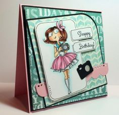 Snappy Birthday by Scrapgirl1210 - Cards and Paper Crafts at Splitcoaststampers