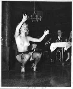 Rita Gable on Stage by Lenny Burtman
