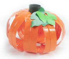 Duck Tape Halloweenkürbis