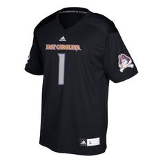 Adidas Men's East Carolina University Replica Football Jersey (Black, Size XX Large) - NCAA Licensed Product, NCAA Men's Jersey/Polos at Academy Sp...