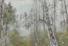 松園 謝依珊 膠彩畫 80x117cm