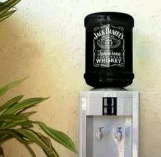 Man cave. Jack Daniels Filtered Water?