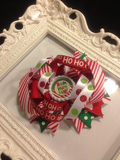 Christmas Hair Bow from LillyBug Creations $7.00