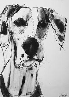 Valerie Davide Dogs  #dogs #drawing #kysa