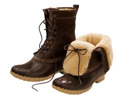 """Men's L.L. Bean's 10"""" Shearling-Lined Boots. These boots are made for more than looks."""