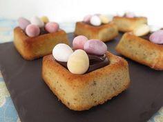 Un petit nid d'amour…nous vous offrons une véritable variation gourmande et plus légère en matières grasses autour des traditionnels œufs de Pâques.