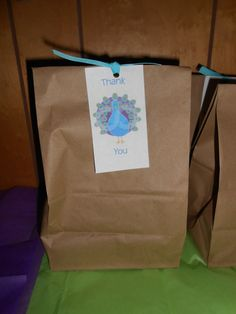 Peacock Party Favors #peacock #partyfavors