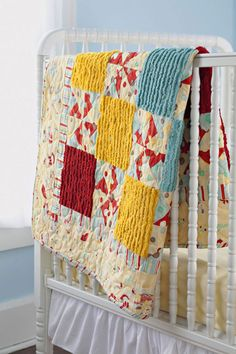 Quilts for Kids--might be a good pattern to use leftover chenille or similar soft fabrics