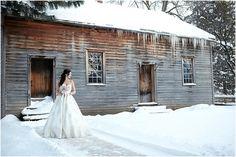 Dreamy winter weddings at Black Creek Pioneer Village Wedding with Oudalova Events & Design Toronto Wedding BoyGirl Photography