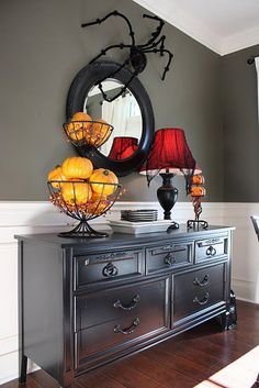 love the color of this refinished dresser
