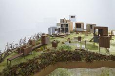 村、その地図の描き方   ondesign Art Village, Weekend House, Presentation, Home And Garden, Architecture, Plants, Image, Models, Perth