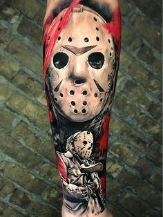 Forarm Tattoos, Dope Tattoos, Badass Tattoos, Great Tattoos, Leg Tattoos, Body Art Tattoos, Sleeve Tattoos, Horror Movie Tattoos, Spooky Tattoos