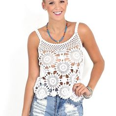 #crochetinspiration #crochettop from Eternal Sunshine Creations by outstandingcrochet
