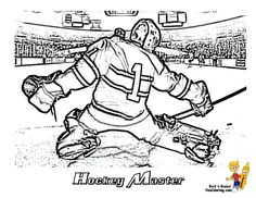 Coloring Page of Hockey Goalie. You Can Print Out This #Hockey #ColoringPage Now... http://www.yescoloring.com/images/01_hockey_goalie_at_coloring-pages-book-for-kids-boys.gif