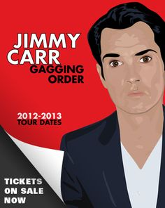 Jimmy Carr at The Baths Hall, Scunthorpe on 10 March 2013. Tickets are on sale online at http://www.scunthorpetheatres.co.uk/performance/20548.aspx or telephone 0844 8542776 as well as in person at the Box Office. The show is for ages 16 and over, we only have a handful of tickets left, although there are some for sale on ticketmaster!