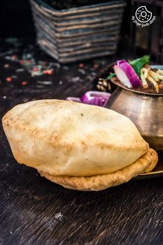 Chole Bhature is one of the tempting and flavorful dishes from Punjabi Cuisine. The union of Chickpea Curry and Fried Flatbreads is known as Chole Bhature. Lunch Recipes, Crockpot Recipes, Soup Recipes, Breakfast Recipes, Chicken Recipes, Delicious Vegan Recipes, Vegetarian Recipes, Bhatura Recipe, Punjabi Cuisine
