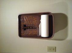 Interesting paper towel holder