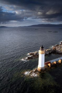 Kyleakin Lighthouse, Skye Bridge, Isle of Skye, Scotland