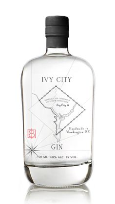 ivy city gin bottle
