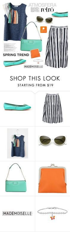 """""""What a Frill: Ruffles"""" by ansev ❤ liked on Polyvore featuring Kate Spade, Carré Royal, Balmain and Rosanna"""