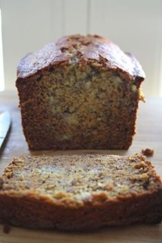 Honey Banana Poppy Seed Bread with Vanilla Cream Cheese Spread