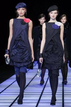 Emporio Armani Fall/Winter 2012 collection.