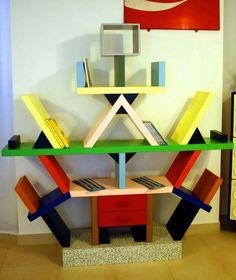 Ettore Sottsass Carlton room divider 1981 Memphis Pinterest