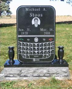 Unique tombstone