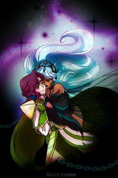 Mystical Priestess Talia by Kireis-Corner on DeviantArt Cartoon Shows, Cute Cartoon, Percy Jackson, Steven Universe, Dessin Animé Lolirock, Les Lolirock, Interracial Art, Harry Potter, Digital Art Girl