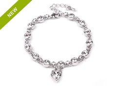 Bracelet with Swarovski Crystals