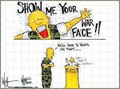 show me your war face devil pup