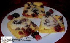 Sütőben sült gyümölcsös palacsinta recept fotóval