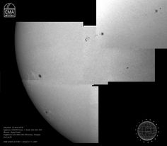 Sun, white light – 2014.08.18.