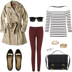 Preppy Outfit Love love love the coat!