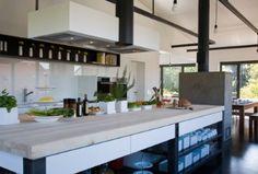 Küche mit großer Insel - Optimale Raumaufteilung