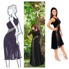 The s dress in the evening and tango version! http://thelondontangoboutique.com/product/the-s-dress/