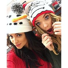 Shay Mitchell and Ashley Benson may play BFFs on Pretty Little Liars, but their friendship goes far beyond the small screen. Shay Mitchell, Ashley Benson, Pretty Little Liars Actrices, Prety Little Liars, Thing 1, Lucy Hale, Happy Birthday Me, American Eagle Outfitters, Celebs