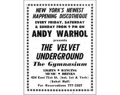Velvet Underground poster print vintage concert music poster Andy Warhol black and white retro print home decor wall art print cool Professional Poster, Vintage Travel Posters, Poster Vintage, Photoshop Rendering, Hand Images, New York Homes, Notebook Paper, Historical Images, Andy Warhol