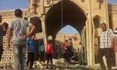 Isis militants blow up Jonah's tomb
