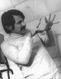 Andrei Tarkovsky on the set of Solaris