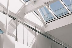 9 Key Skylight Terms To Know - Mares & Dow - General Home Contractors Skylight Glass, Window Glass, Infinity Lights, Washing Windows, Brown Doors, Minimal Home, Modern Staircase, Japan, Windows