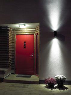 Norlys Sandvik LED kültéri homlokzatvilágító