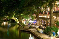 San Antonio, TX - River Walk  by Colin Woon